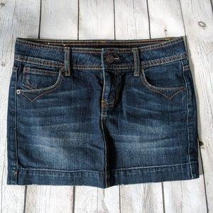 🍍3/$40 SO brand Juniors Denim Mini Skirt